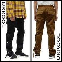 URKOOL Nylon Plain Cargo Pants