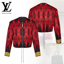 Louis Vuitton Short Casual Style Blended Fabrics Plain Jackets
