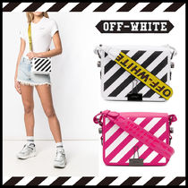 Off-White 2WAY Leather Shoulder Bags