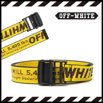 Off-White Street Style Belts