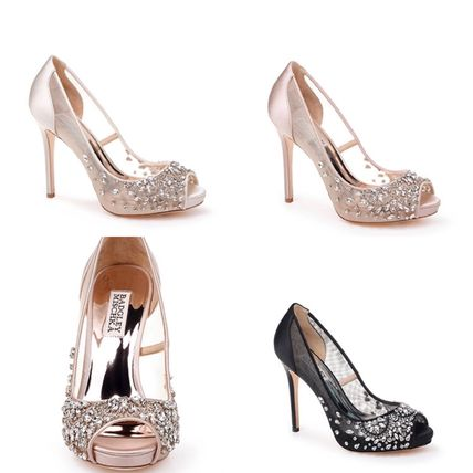 Pin Heels Party Style Heeled Sandals