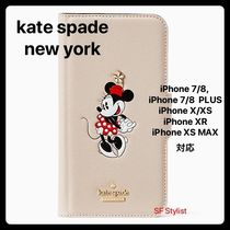 kate spade new york Blended Fabrics Collaboration Leather Smart Phone Cases