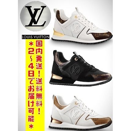 5933584795f Louis Vuitton 2019 SS Monogram Leather Low-Top Sneakers (1A3CWF ...
