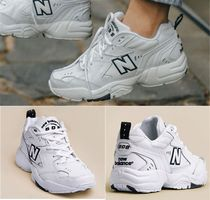 New Balance Unisex Leather Low-Top Sneakers