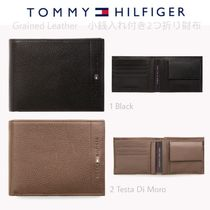 Tommy Hilfiger Plain Leather Folding Wallets