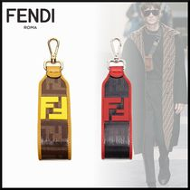 FENDI Unisex Blended Fabrics Leather Smart Phone Cases