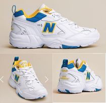New Balance 608 Unisex Leather Low-Top Sneakers