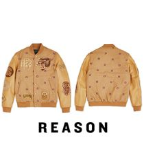 REASON Short Collaboration Varsity Jackets