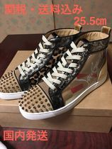 Christian Louboutin Other Check Patterns Blended Fabrics Studded Street Style