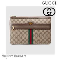 GUCCI Monogram Zigzag Shoulder Bags