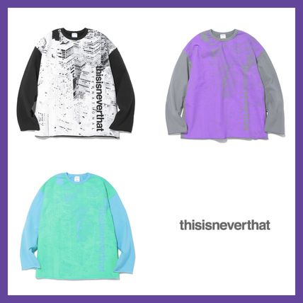 thisisneverthat More T-Shirts Unisex Street Style T-Shirts