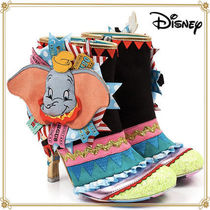 Disney Casual Style Faux Fur Collaboration Boots Boots
