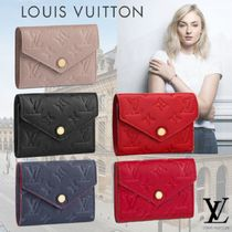 Louis Vuitton MONOGRAM EMPREINTE Monogram Leather Folding Wallets