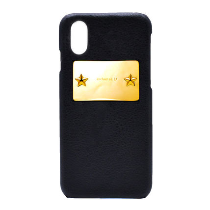 Star Leather Smart Phone Cases