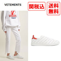 VETEMENTS Street Style Leather Sneakers