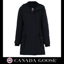 CANADA GOOSE Casual Style Plain Long Jackets