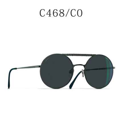 9c8a8a9032f CHANEL Round Sunglasses by go826 - BUYMA