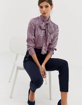 TED BAKER Stripes Long Sleeves Shirts & Blouses
