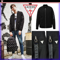 Guess Street Style MA-1 Bomber Jackets