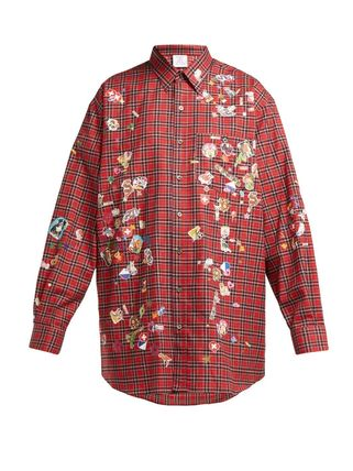 VETEMENTS Shirts Other Plaid Patterns Street Style Long Sleeves Cotton Shirts 2
