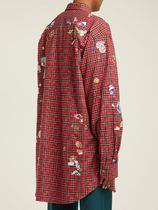 VETEMENTS Shirts Other Plaid Patterns Street Style Long Sleeves Cotton Shirts 4