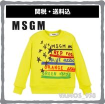 MSGM Street Style Baby Girl Tops