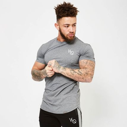 VANQUISH FITNESS More T-Shirts Street Style Plain Short Sleeves T-Shirts 6