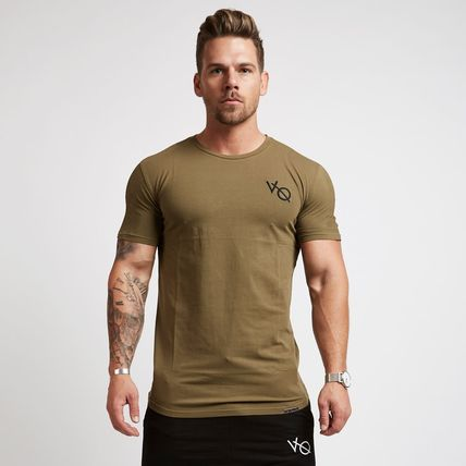 VANQUISH FITNESS More T-Shirts Street Style Plain Short Sleeves T-Shirts 14