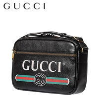 GUCCI Plain Leather Messenger & Shoulder Bags
