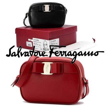 2WAY Leather Elegant Style Shoulder Bags