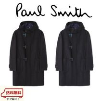 Paul Smith Wool Long Duffle Coats