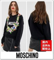 Moschino Flower Patterns Tropical Patterns Casual Style Street Style