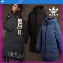 adidas Street Style Long Down Jackets