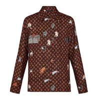 Louis Vuitton Casual Style Silk Long Sleeves Other Animal Patterns Medium