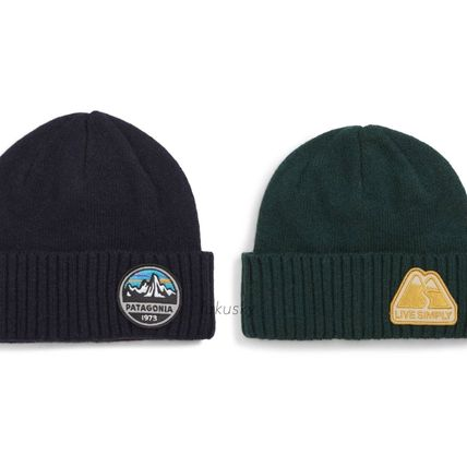 Patagonia Knit Hats Unisex Street Style Knit Hats