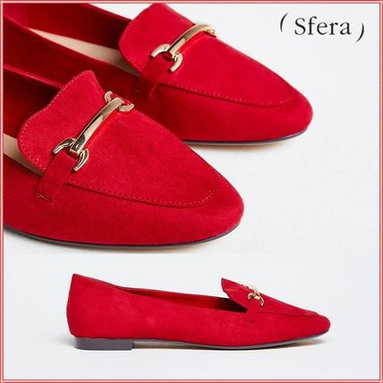 Moccasin Casual Style Plain Slip-On Shoes