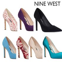 Nine West Suede High Heel Pumps & Mules