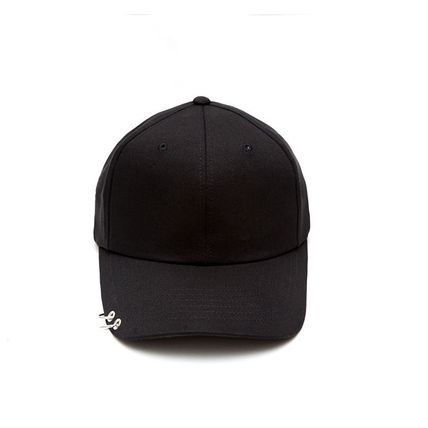 MACK BARRY MACK BARRY MACK CURVE RING CAP BLACK