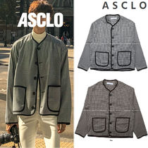 ASCLO Gingham Street Style Collaboration Cardigans