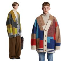 TRUNK PROJECT BTS TEAHYUNG's TRUNKPROJECT Color Mixed Wool Cardigan Jacket