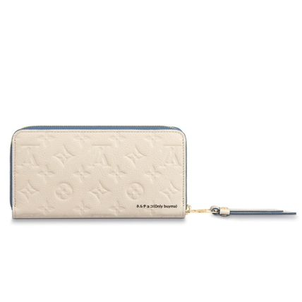 Louis Vuitton Long Wallets Monogram Unisex Calfskin Bi-color Long Wallets 3