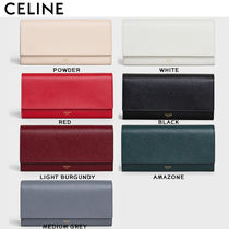 CELINE Flap Long Wallets