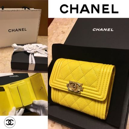 41cf274b4d8b CHANEL BOY CHANEL 2019 Cruise CHANEL BOY CHANEL Small Flap Wallets Caviar  Calfskin (A81996 Y83621 5B642) by Ravie - BUYMA