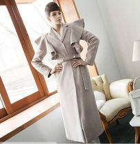 DINT Plain Long Oversized Elegant Style Wrap Coats
