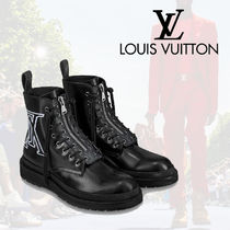 Louis Vuitton MONOGRAM Monogram Leather Boots