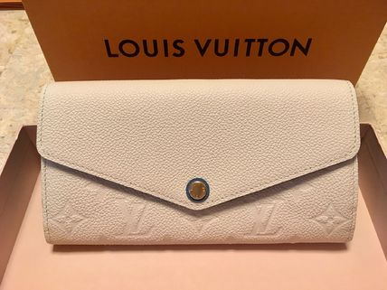 Louis Vuitton Long Wallets Plain Leather Long Wallets 2