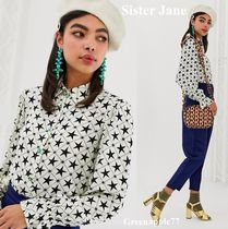 Sister Jane Star Casual Style Long Sleeves Shirts & Blouses