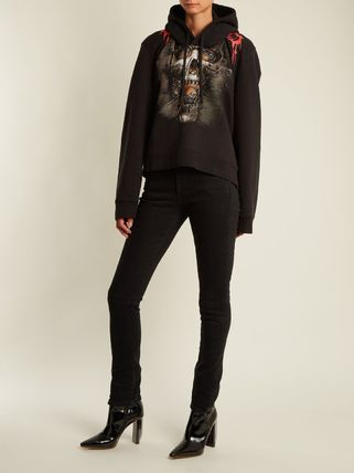 VETEMENTS Hoodies Street Style Long Sleeves Cotton Hoodies 4