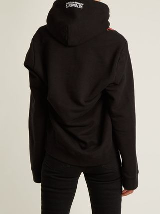 VETEMENTS Hoodies Street Style Long Sleeves Cotton Hoodies 5