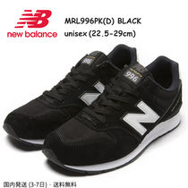 New Balance 996 Casual Style Unisex Suede Street Style Plain